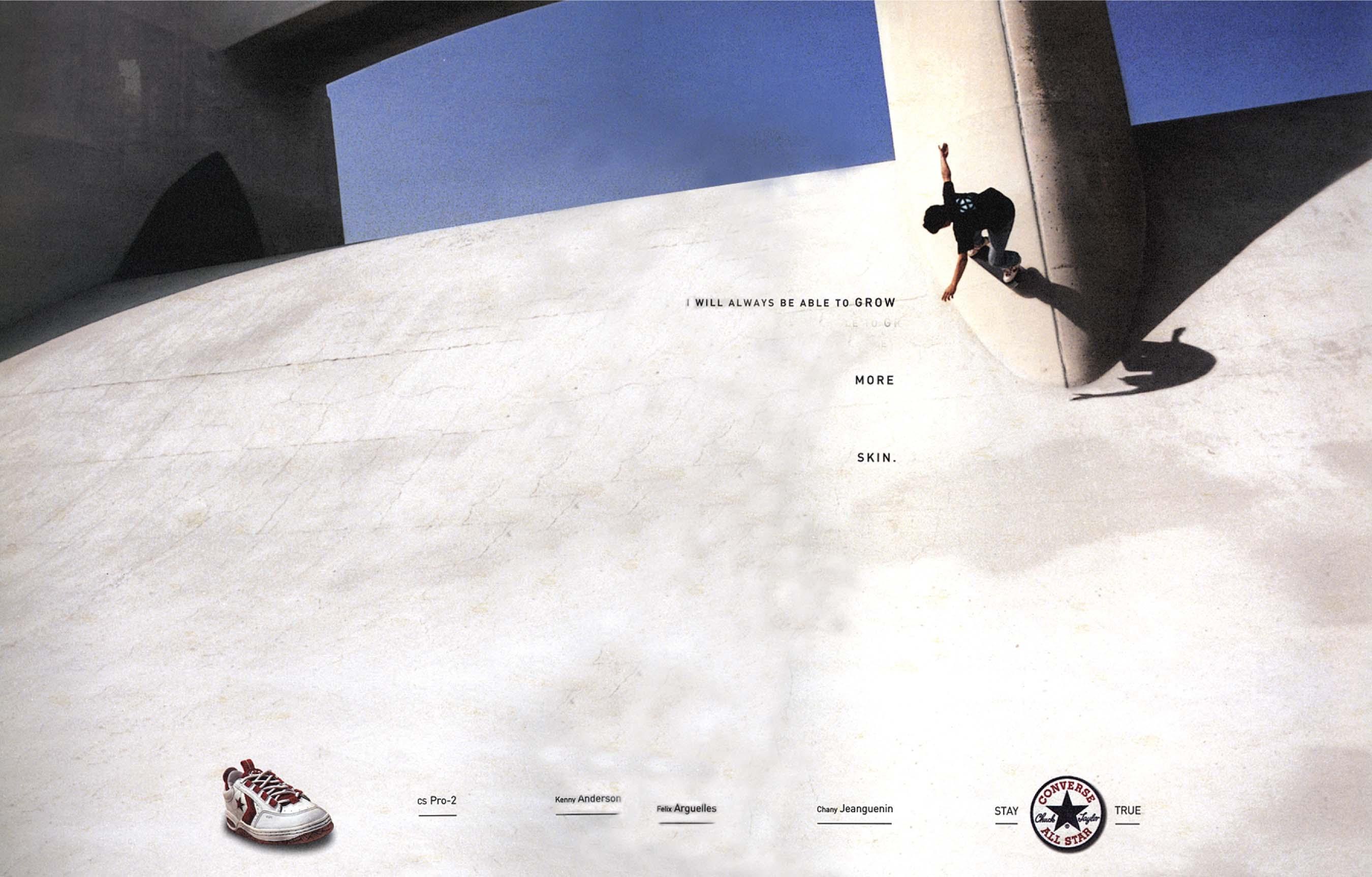 Converse Skate — Skin