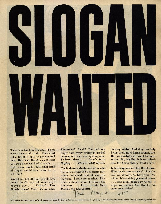 Slogan Wanted